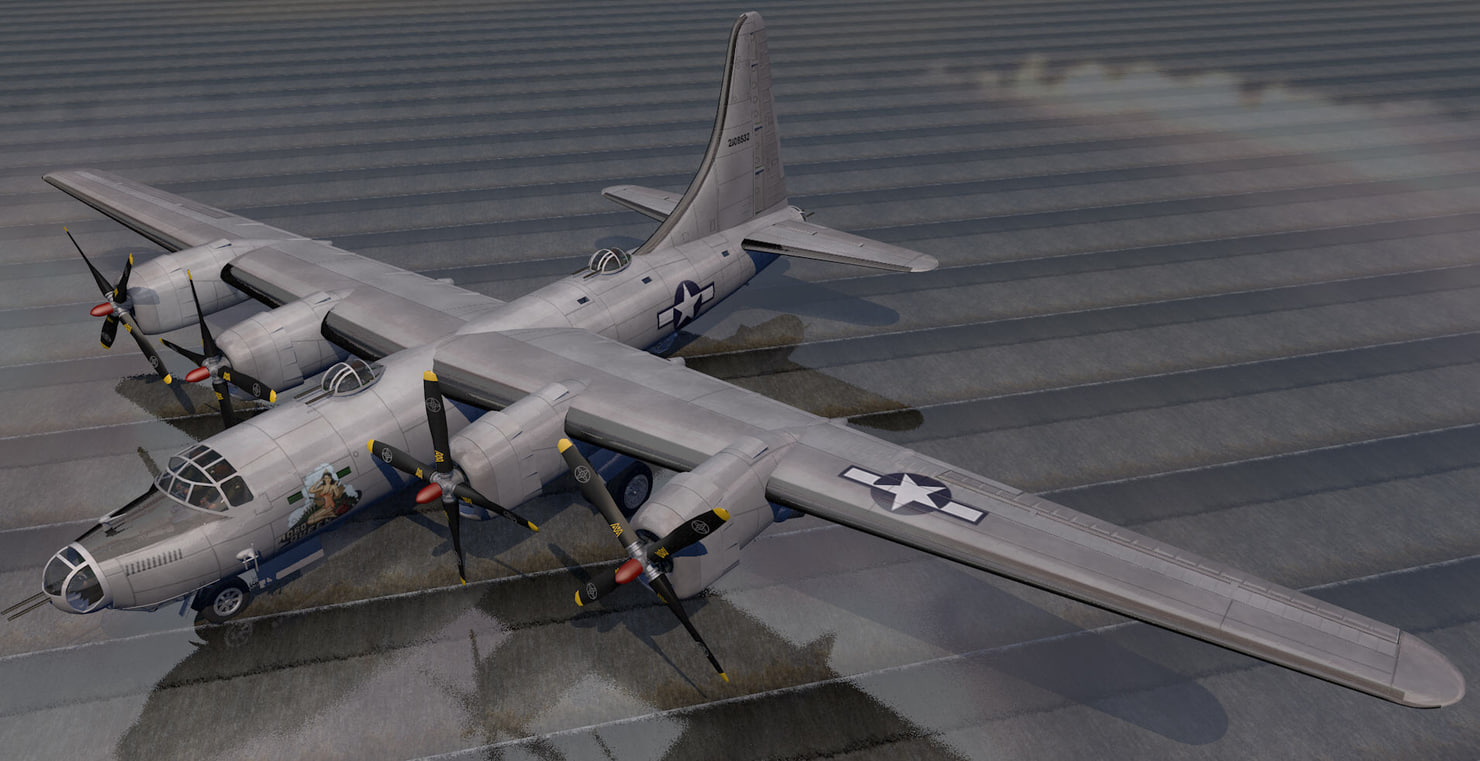 3d plane consolidated b-32 dominator model