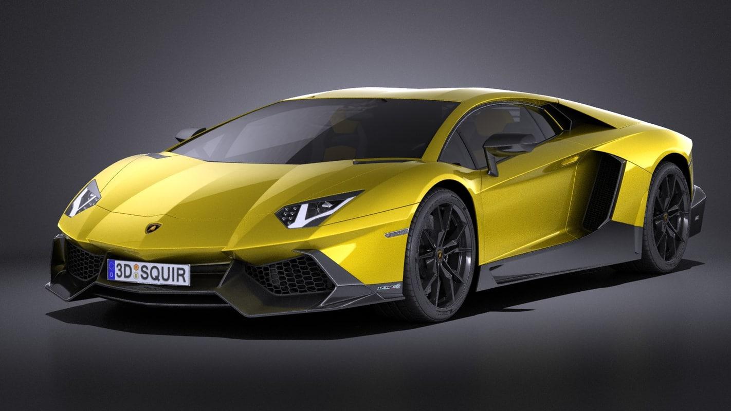 2015 lamborghini aventador 3d 3ds