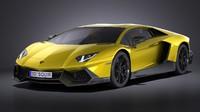 Lamborghini Aventador LP720 4 50th Anniversary 2015 VRAY