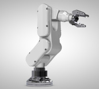 robotic arm c4d