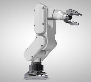robotic arm c4d