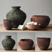 RH Decor pot collection