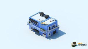 city builder residential 5 3d model