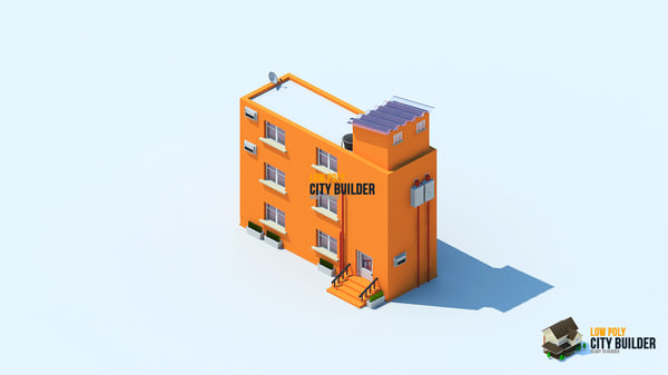 city builder residential 8 3d 3ds