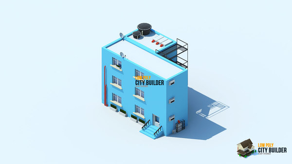 3d 3ds city builder residential 9