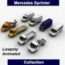 mercedes sprinter truck chassis 3d model