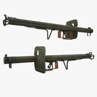 3d model panzershreck gun