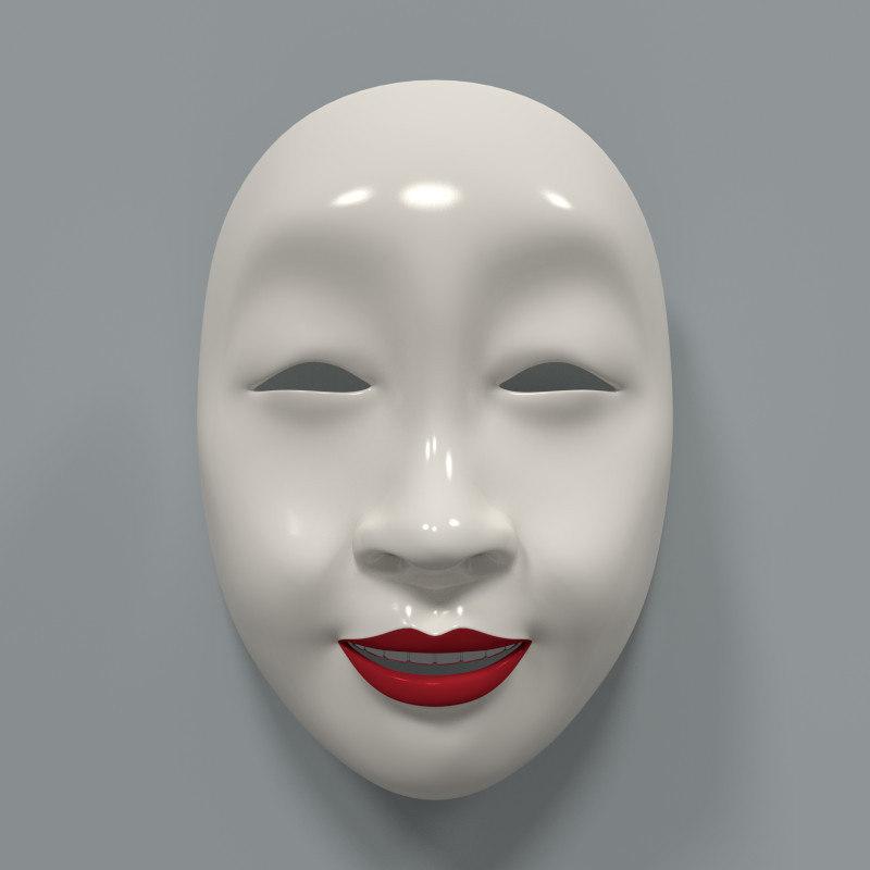 3ds japanese mask