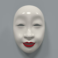 3ds japanese mask