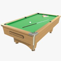 max realistic pool table
