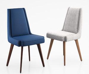 3d kensington dining chair model