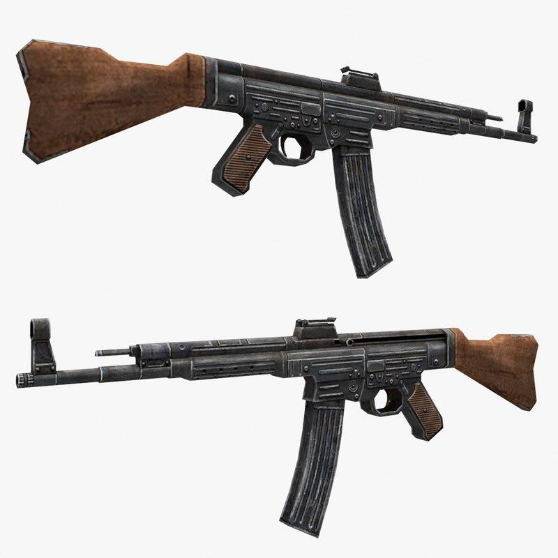 stg-44 gun 3d model