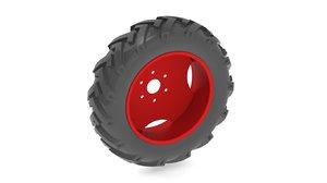 3d ige tyre tractors