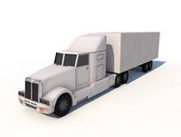 truck trailer 3ds