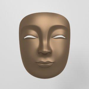 japanese mask 3ds