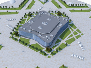 3d sochi olympic stadium