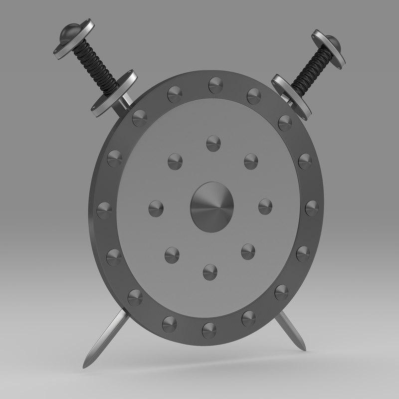 3ds shield sword