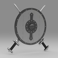 shield sword 3d 3ds