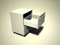 3d model kitchen blum tandembox boxside