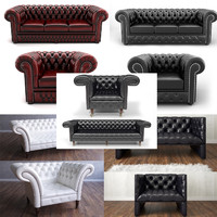 3d chair sofa armchair model
