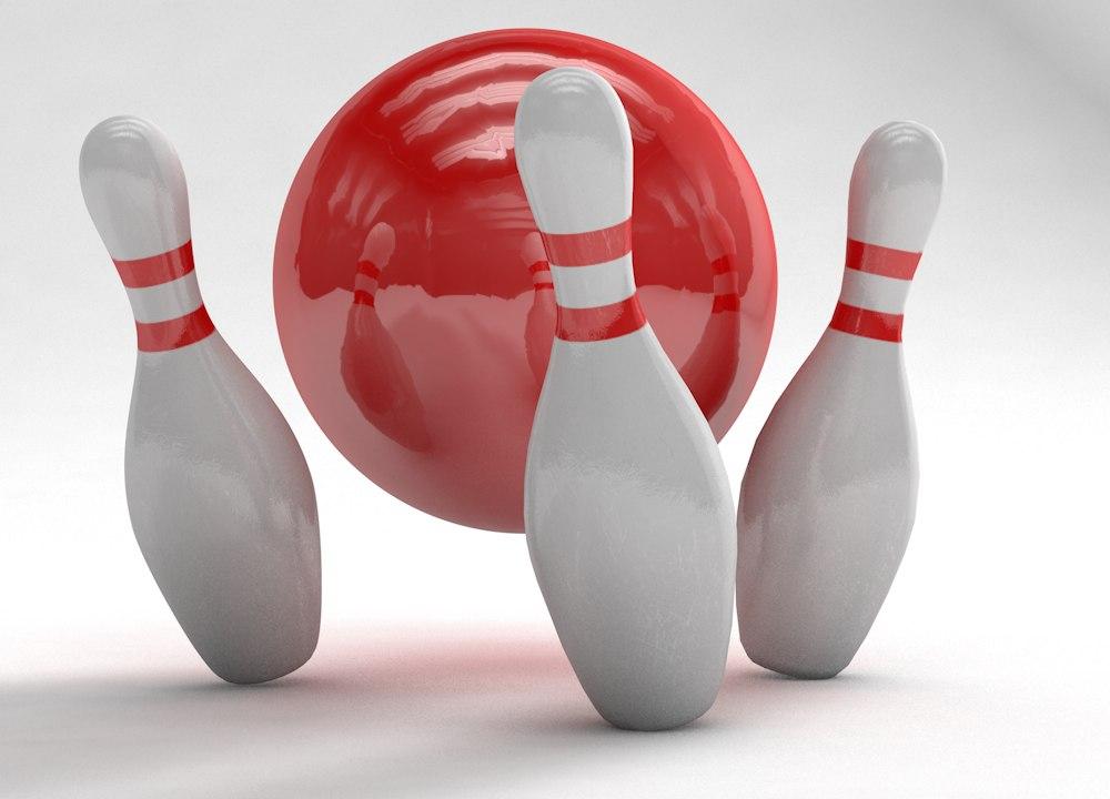 bowling pins c4d free