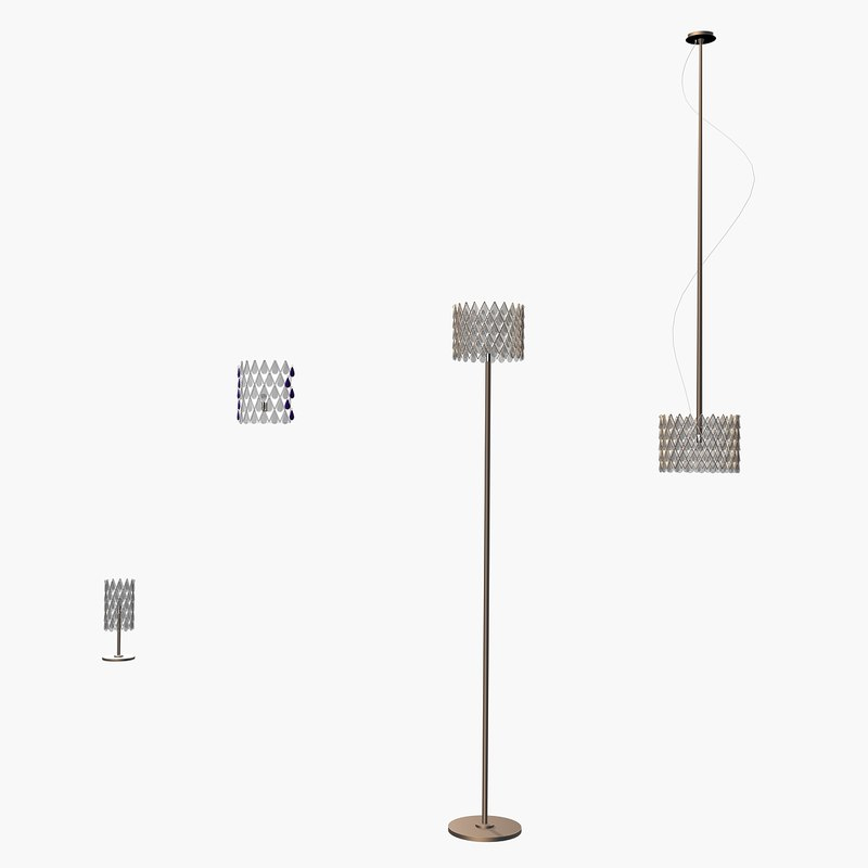 int lamp 3d model