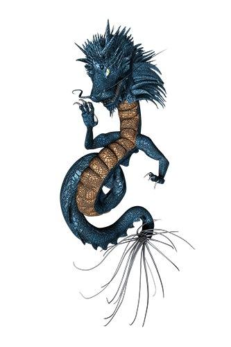 dragon shiryu 3d max