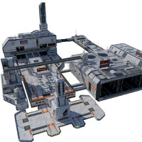 max block sci-fi city