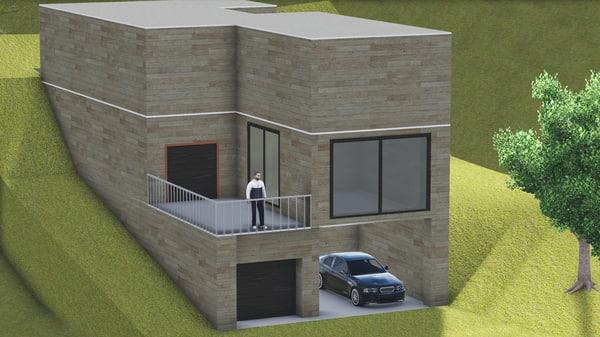 house rauch 3d model