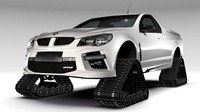 3d model hsv gts maloo crawler