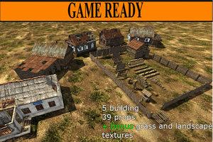 old village 3ds
