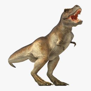3d tyrannosaurus rex rigged