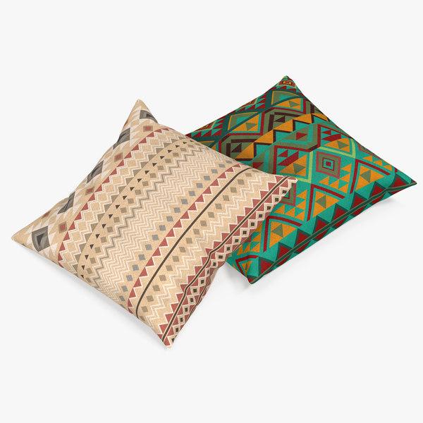pillows 3 3d max