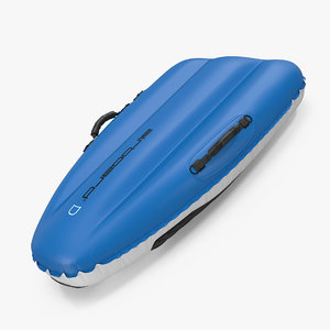 airboard classic 130 sled 3d model