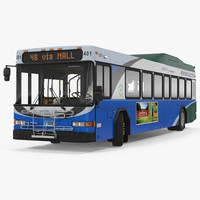 gillig advantage hybrid bus 3ds