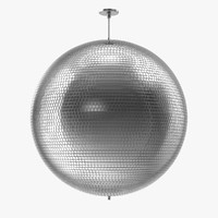 disco mirror ball 3d model