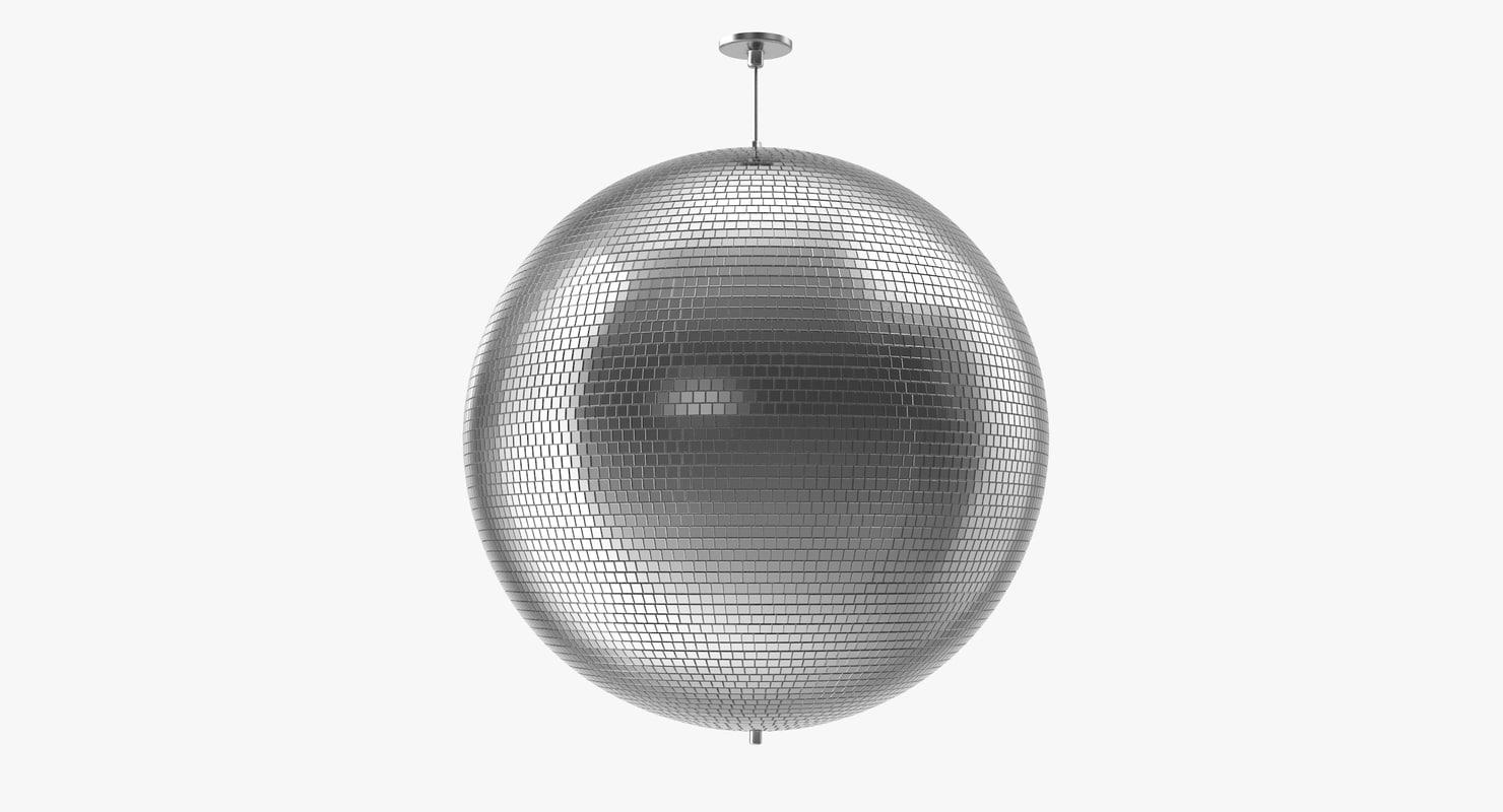 disco mirror ball 3d model