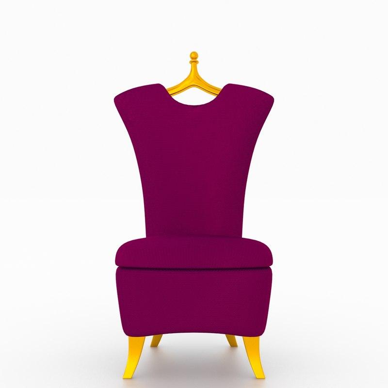 private seat 3d model