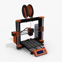 prusa i3 printer - 3d model