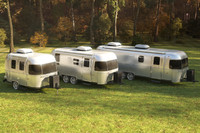 Airstream trailers collection, vray scene.