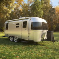 airstream flying cloud trailer obj