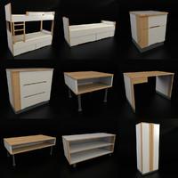children s room 3d model