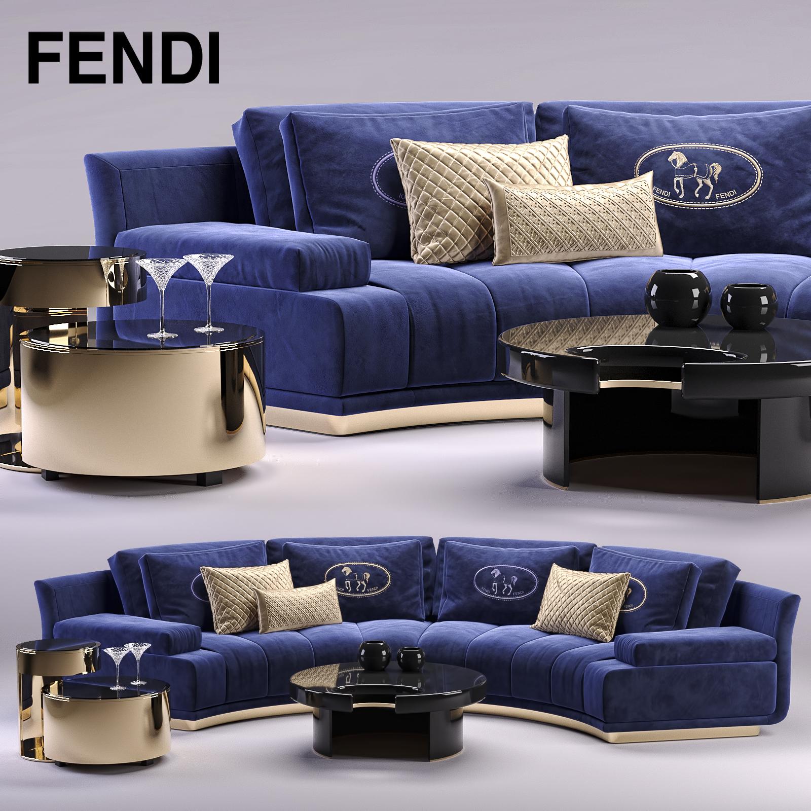 Surprising Fendi Artu Round Sectional Sofa Alphanode Cool Chair Designs And Ideas Alphanodeonline