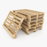 wooden pallet stack max