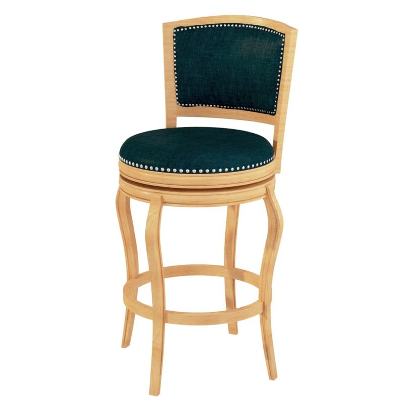 3d model of bar stool