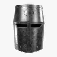 3d crusader helmet