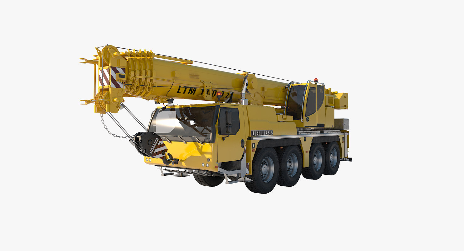 liebherr 1070-4 2 mobile crane max