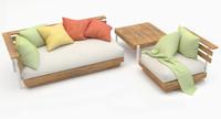 mudo sofa set 3d max