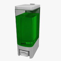 soap dispenser 3d max