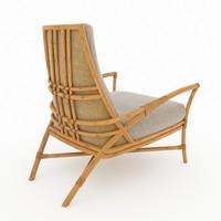 3d chair longe model
